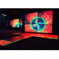 Buy cheap Stage Interchange P3.91 LED Dance Floor Hire Full Color Video Screen from wholesalers