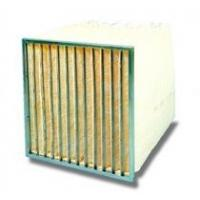 Buy cheap ISO SGS RoHS 595 X 595 X 500mm high efficiency Durable Filter Bags F8 Pocket Air Filter from wholesalers