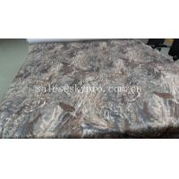 Buy cheap Woven fabric laminated / printed EVA rubber foam mat for boat deck product
