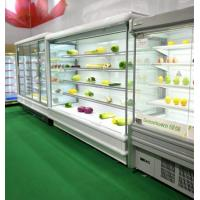 Buy cheap Multideck Vertical Open Display Cooler For Milk With Optional Glass from wholesalers