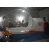 Buy cheap 4M Diameter Inflatable Clear Bubble Tent , Inflatable Transparent PVC Dome Tent from wholesalers