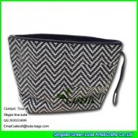 Buy cheap LUDA woven colored handbags totes fashion lady straw evening clutch bag from wholesalers