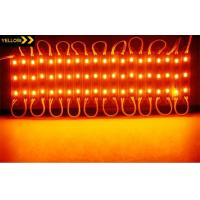 Buy cheap Yellow home decoration lightings 5730 modules 3 leds light 12V waterproof IP67 from wholesalers