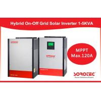 China 5kva 48 v Hybrid Solar Inverter , 120A MPPT Controller portable solar inverter on sale