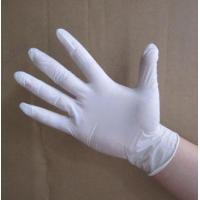 Buy cheap Natural Latex Disposable Medical Gloves For Semiconductor / Precision Electronics Industry product