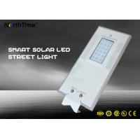 Buy cheap 7000K Park LED Solar Street Lights With PIR Motion Sensor Control from wholesalers