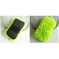 Buy cheap microfiber cleaning sponge for car from wholesalers