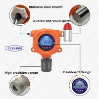 Buy cheap OC-F08 Fixed Helium He gas detector, test range customized, Audible-visual alarm,Explosion proof design product