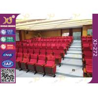 Buy cheap Cover Shaped University Lecture Room, Church Hall Chairs With Customized Sewing product
