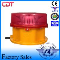 Buy cheap Anti-Corrosion Red Aircraft Warning Lighting Building Type B Medium Intensity 2000cd Telecom Tower Obstruction Light from wholesalers