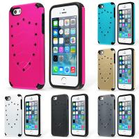 Buy cheap Heavy Duty Shield Bumper IPhone 5S Protective Cell Phone Cases With Screen Protector from wholesalers