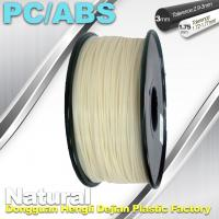 Buy cheap High Toughness 1.75mm 3D Printer Filament PC / ABS Filament 1.3Kg / Roll from wholesalers