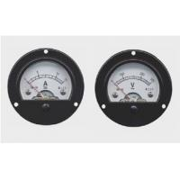 Buy cheap Mini Round Panel Meter , Moving Iron Instruments AC / DC electrical energy meter from wholesalers