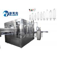 Buy cheap PET Automatic Water Bottle Filling Machine With PLC Control For Drinking Water from wholesalers