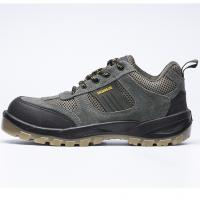 Buy cheap SJNO.102 suede leather upper dual pu outsole casual style safety work shoes men from wholesalers