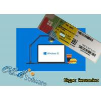 Buy cheap Computer Windows 10 Coa Sticker Win 10 Professional Hologram Label License from wholesalers