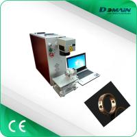 Buy cheap Raycus Source 1064nm Industrial Laser Marking Machine 30 Watt Easy To Operate from wholesalers