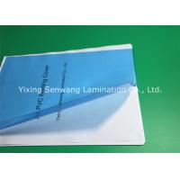 Buy cheap High Transparency Clear Blue PVC Binding Covers A4 Size 170 Micron from wholesalers