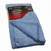 Buy cheap Microfiber Towels, Eco-friendly, Widely Used in Auto and Home Cleaning from wholesalers