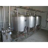 Buy cheap CE ISO Passed CIP Cleaning System Beverage Milk Plant Washing Machine product
