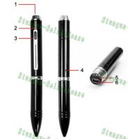 Buy cheap Spy pen 8GB HD 720P Camera DVR, Spy camera /pinhole camera  from wholesalers