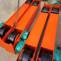 Buy cheap 5Ton 10 Ton 15 Ton Overhead Crane End Beam End Carriage With Gear Motor from wholesalers