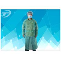 Buy cheap SMS Disposable Isolation Gowns with Knitted Wrists For Operation Room from wholesalers