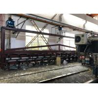 Buy cheap Fast Sheet Roll Forming Machine Discontinuous Pu Sandwich Panel Production Line product