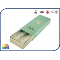 Buy cheap Cosmetic Custom Match Boxes Silver Cardboard Sleeve Packaging With EVA Foam Insert from wholesalers