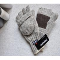 Buy cheap woolen gloves with pigskin palm from wholesalers