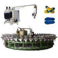 Buy cheap pu shoe insole and outsole molding machine with automatic rotary production line from wholesalers