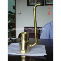 Buy cheap Brass Material Pond Fountain Nozzles Size 4 For Garden Water Features Bubble Effect from wholesalers