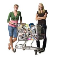 Buy cheap Zinc Plated Surface Cusstom Supermarket Shopping Carts , Wire Grocery Carts from wholesalers