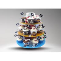 Buy cheap OEM Children Party POP Cardboard Cup Cake Stand / Advertising Carton Display from wholesalers