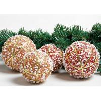 Buy cheap 2 Colors 8cm 10cm Festival Decoration Items Bubble Christmas Ball Ornaments from Wholesalers