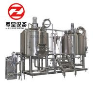 Buy cheap Bright 600l Micro Brewing Systems With Fermentation Tanks PLC Controlled from wholesalers