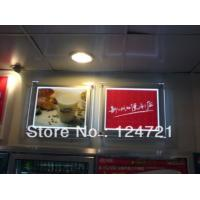 Buy cheap A1 size ultra-thin crystal led light boxes for advertising display from wholesalers