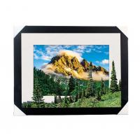 Buy cheap Eco-friendly 30x40CM 5D Lenticular Printing Services With PS Black Frame For Home / Hotel from wholesalers