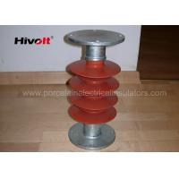 Buy cheap 35kV Silicone Rubber Station Post Insulator Red Color For Switch Parts product