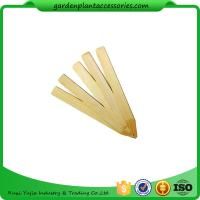 Buy cheap Vegetable Bamboo Garden Plant Markers , Natural Wood Garden Stakes from wholesalers