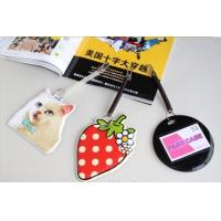 Buy cheap Different Design Soft PVC Luggage Tag Printable For Business Gifts from wholesalers