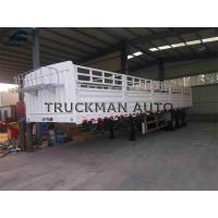 Buy cheap High Loading Fence Semi Trailer 40 Ton~60 Ton With Wabco And Abs Support from wholesalers