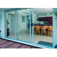 Buy cheap AS2047 Aluminum Glass Sliding Door With 85 Series Aluminum Frame And Frosted Glass from wholesalers