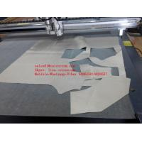 Buy cheap Bulky Silicone Cloth Glass Silica Cloth Fabric Siltem CNC Knife Cutting Machine from wholesalers