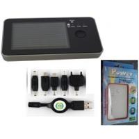 Buy cheap Mobile Devices 2600mAh Solar Portable Power Bank for iphone and ipad from wholesalers