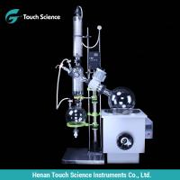 Buy cheap RE-2002 Double Condenser Vacuum Distillator Rotary Evaporator 20L product