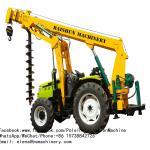 Buy cheap Street Light Pole Erection Machine Crane Machine For Municipal Engineering Construction from wholesalers