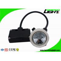 Buy cheap 5.2Ah Black Safety Underground Mining Cap Lights Rechargeable Explosion Proof from wholesalers