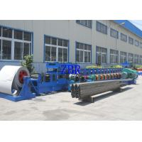 Buy cheap Chain Drive 22Kw Guardrail Roll Forming Machine 100mm Roller Shaft product