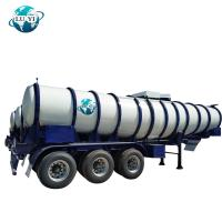 Buy cheap High quality 3 axle aluminum   Fuel petroleum gasoline transfer Tanker Semi Trailer for sale from wholesalers